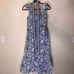 VineyardVinesXTarget navy blue & white Dress XS